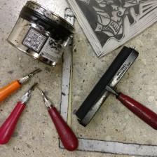 Linoleum carving tools